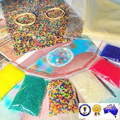 Orbeez Qty 10000 (2000 X 5 colours) EXPRESS SHIPPING from Local Aussie Supplier!
