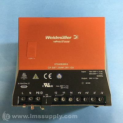 Weidmuller 8708680000 Power Supply Switch Mode  Usip