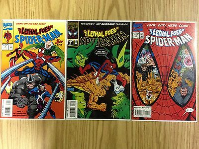 Marvel Comics LETHAL FOES OF SPIDER-MAN Issues 1-3