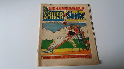 shiver and shake comic issue 14 9TH JUNE 1973