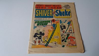 shiver and shake comic issue 69 29TH JUNE 1974