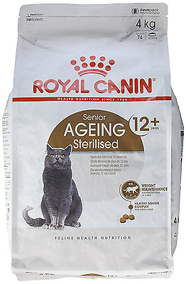 Royal Canin - Sterilised 12 + / Chat Stérilisé + 12 Ans - Sac de 4 Kg