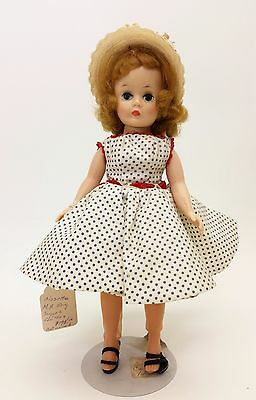 Vintage Madame Alexander Cissette ~ Tagged clothes ~ Blue Polka dot