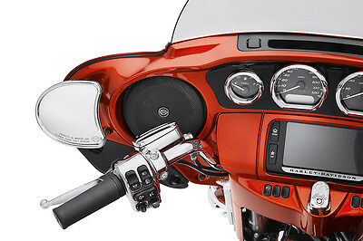 """Harley Davidson Boom  6.5"""" High Performance Audio Speakers With Adapters"""