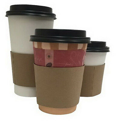 South Seas Coffee Clutch Paper Cup Sleeve Brown | 1000/Case