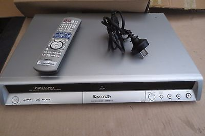 Panasonic DMR-EX75 DVD/HDD Recorder + Remote | HDMI | copy vhs to dvd
