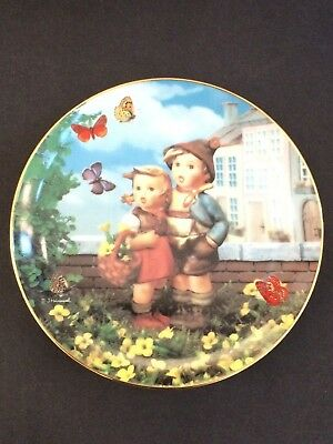 "Hummel Collectible Plates From ""little Companions"" Series"