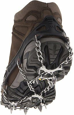 MICROspikes Foot Traction System, KAHTOOLA, X-Large Black
