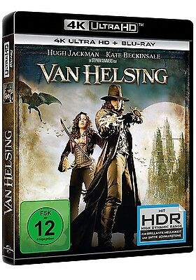 Van Helsing - 4K Uhd (Hugh Jackman, Kate Beckinsale,...) Ultra Hd Blu-Ray Neu