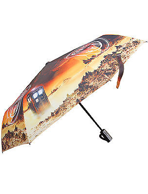 Doctor Who Time Lord TARDIS Umbrella - Official BBC Dr Who Brolly Umbrellas Gift