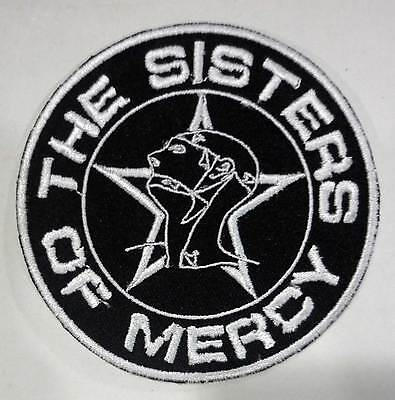 THE SISTERS OF MERCY embroidered patch Bauhaus Christian Death Alien Sex Fiend