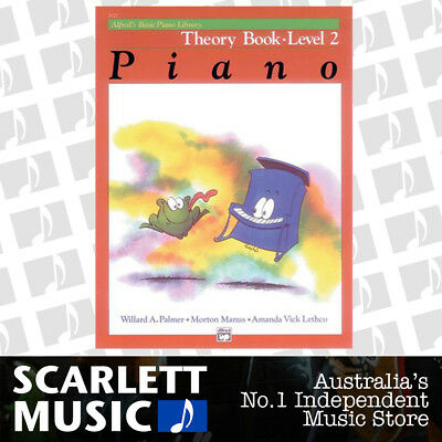 ABPL Alfred's Basic Piano Library - Alfreds Theory Book Level 2 ( Two / Second )