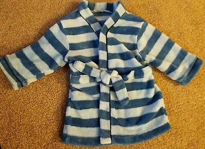 Baby Boys Dressing Gown 0-6 Months Mothercare