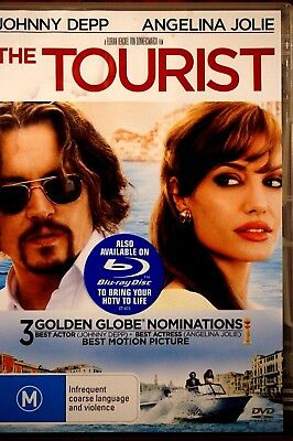 The Tourist  - Lightly Used DVD