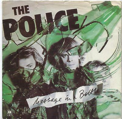 """The Police - Message In A Bottle - Coloured Vinyl - 7"""" Single"""