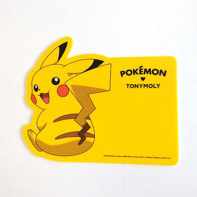 Limited Edition - Tony Moly Pokemon Pikachu Character Mouse Pad
