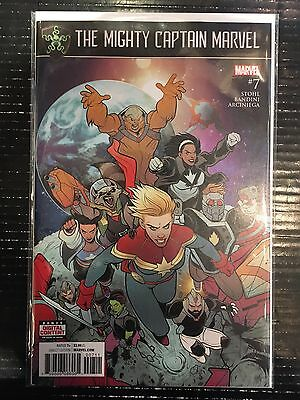 Mighty Captain Marvel #7 NM- 1st Print Marvel Comics
