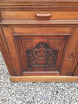 Carved Victorian Sideboard - Good Condition