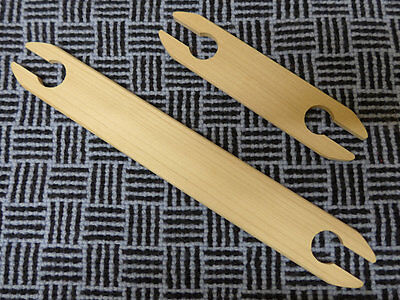 "Wooden shuttle sticks for weaving looms 150mm (6"") or 260mm (10"")"