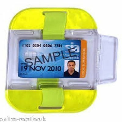 Sia Security Id Armband Badge Holder Doorman Bouncer In Various Colours