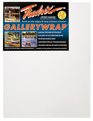 Fredrix Gallerywrap Stretched Canvas, 24 x 30 in