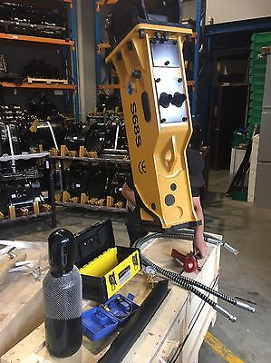 Excavator Hammer With Tools And Gauges Heavy duty