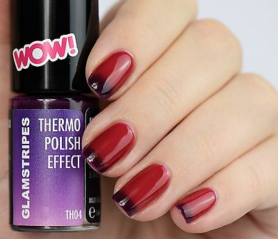 Thermo Effect Polish Nagellack - Dark To Light Violet - Neu 5004