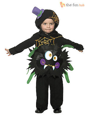 Toddler Spider Costume Kids Child Baby Halloween Party Fancy Dress Boys Girl 1-4