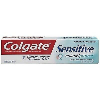12 x Colgate Sensitive Enamel Protect Toothpaste 75ml 100% Brand New