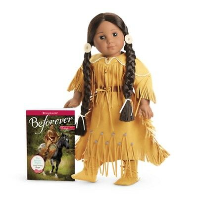 "American Girl KAYA DOLL & BOOK BEFOREVER 18"" Doll Native Indian NEW in Box"