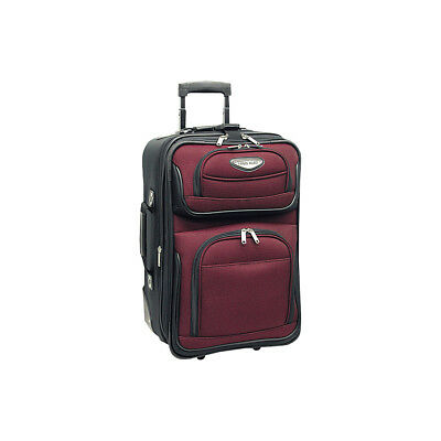 Traveler's Choice Amsterdam 21 in. Expandable Carry-on Softside Carry-On NEW