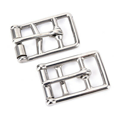 Stainless steel cinch buckle horse rug fittings leather buckle saddlery buckle.