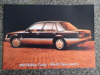 Holden 1985 Vk Calais Brochure Plus Sunroof Brochure.  100% Guarantee.