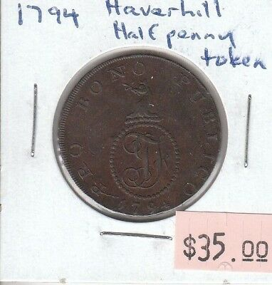 Great Britain Half Penny 1794 - Haverhill