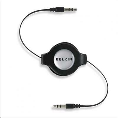 Belkin Retractable Car Mini-Stereo Cable - 4.5ft