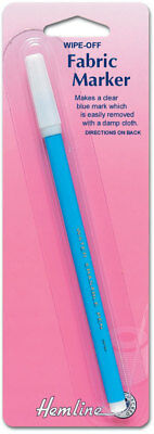 NEW | Hemline H295 | Wipe Off / Wash Out Fabric Marker Pen | FREE SHIPPING