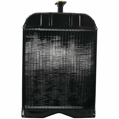8N8005 Radiator for Ford 2N 8N 9N Tractor Clancy Radiator 1106-6300