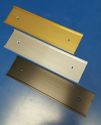 New Name Plate Holders, Office Door Name Plate Holders, 2x8