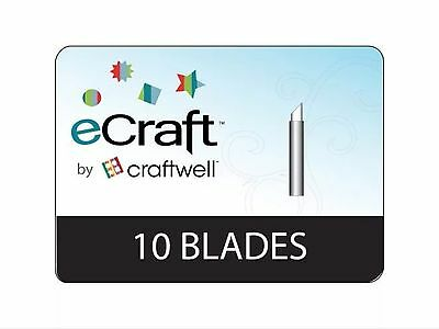 eCraft By Craftwell Pack of 10 Replacement Blades CHEAPEST HERE ON UK EBAY