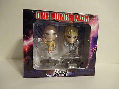 Loot Crate Anime Exclusive One-Punch Man Figure 2-Pack July 2017 Action Comedy