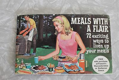 Vintage 1950's Meals With a Flair Recipe Booklet