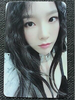 SNSD TAEYEON ALL NIGHT Ver Official PHOTOCARD 6th Album Holiday Night 태연