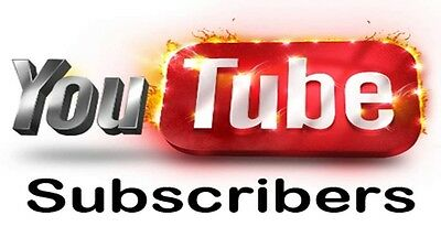 50 YouTube Subs - INSTANT DELIVERY