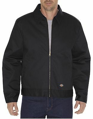 Dickies Men's Black Lined Insulated Eisenhower Jacket TJ15