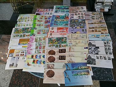 Bulk Lot FDC Stamped Envelopes Australia Stamp Sheet Variation 60+