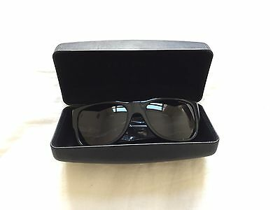 Versace Sunglasses,  Black, New tags and hard case, handmade in Italy
