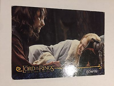 Topps Lord Of The Rings Card - Eowyn R16