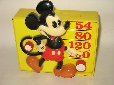 1960's Era Mickey Mouse AM Radio
