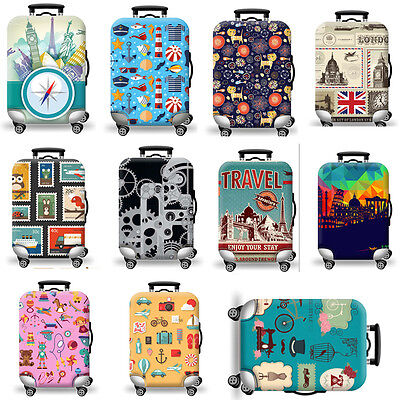 "Elastic Luggage Suitcase Cover 20""24""28""32"" Dustproof Protector Protective Bag"