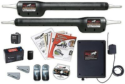 Mighty Mule MM562 Automatic Gate Opener For Heavy Duty Dual Swing Gates For 18'